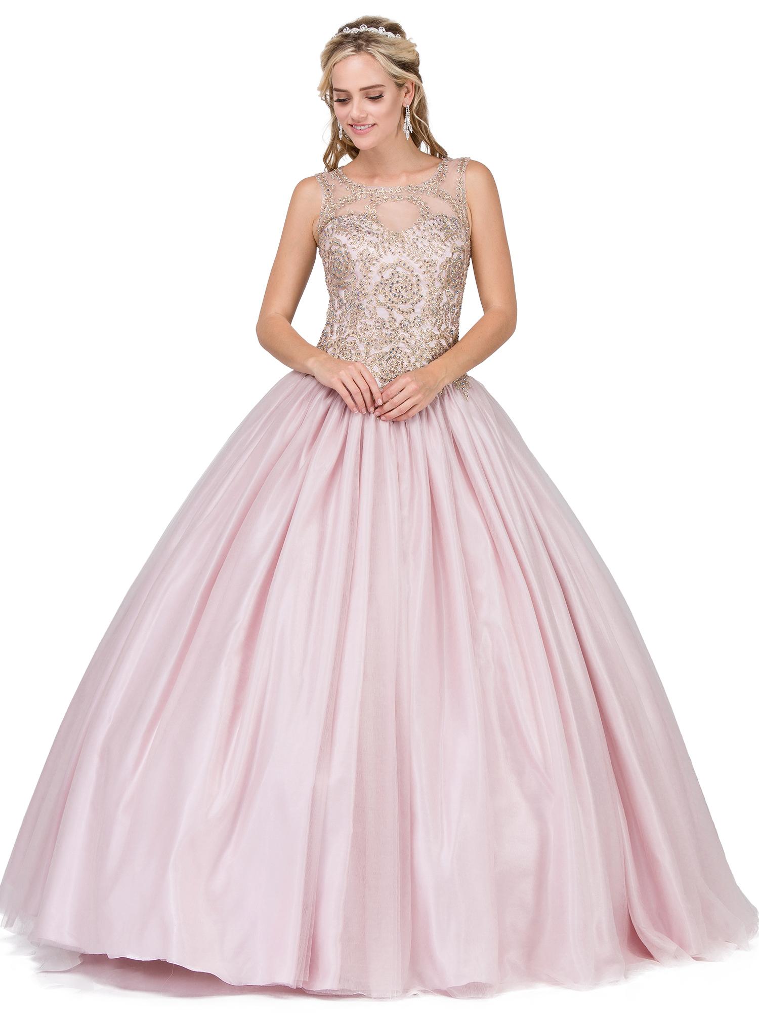 vestido rosa quince años star dance