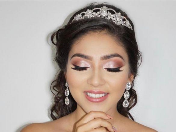 5 mejores tendencias de maquillaje de quinceañera